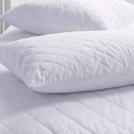 Подушка холлофайбер в микрофибре